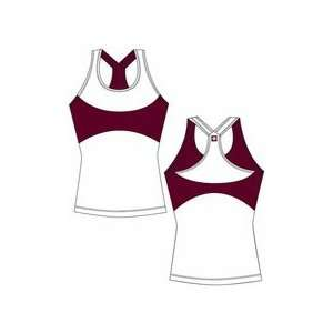 Texas A&M Aggies TAMU NCAA Ladies Yoga Fit Tank Large