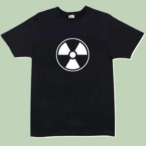 Radiation Symbol T shirt (S 4XL) (540) Danger, warning,