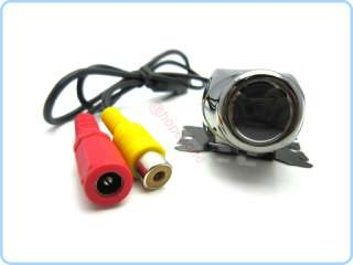 DIY 170° Car Rear View Reverse backup camera Cam W/ 7 LCD Color
