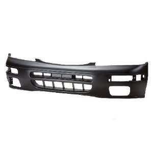 TKY DS04093BD EA5 Nissan Maxima Primed Black Replacement Front Bumper