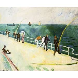 Hand Made Oil Reproduction   Raoul Dufy   32 x 26 inches
