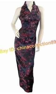 Chinese Women Long Cheongsam Evening Dress/Qipao