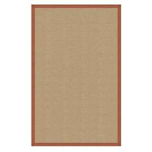 Athena sisal & burnt orange rug Home & Kitchen