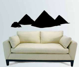 Egypt Egyptian Pyramid Mural Wall Vinyl Decal Sticker