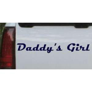 8in    Daddys Girl Girlie Car Window Wall Laptop Decal Sticker