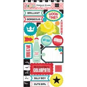Echo Park   Happy Days Collection   Chipboard Stickers