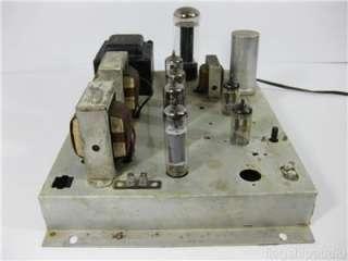 Vintage Magnavox Push Pull 6BQ5 Stereo Tube Power Amplifier Amp