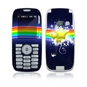 Rainbow Stars Decorative Skin Cover Decal Sticker for LG Rumor UX260
