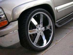 Wheel + Tire Packages 26 inch Triple chrome rims U2 55