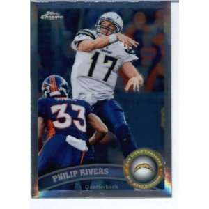 2011 Topps Chrome Football San Diego Chargers Team Set