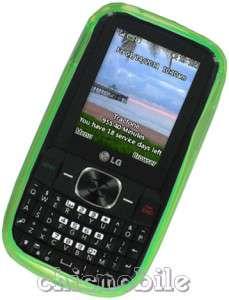 LIME GREEN TPU Gel Skin Case Cover TRACFONE 10 LG 500G