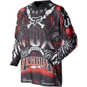 Fox Racing 360 Houston Victory Jersey   2X Large/Black/Red