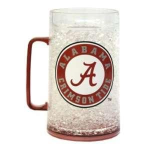 Alabama Crimson Tide UA NCAA Monster Size Crystal Freezer Mug