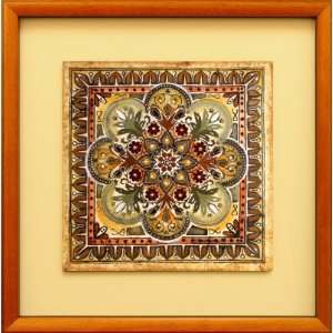 Italian Tile III by Ruth Franks, 19x19: Home & Kitchen