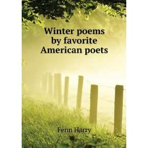Winter poems by favorite American poets