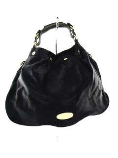 58 7 MULBERRY Pony Hair Mitzty Hobo Rouge Noir Bag REDUCED!