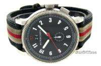 Classic Black Nova Check Dial Leather Strap Endurance Watch BU7680
