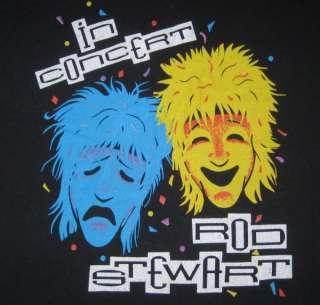 VTG ROD STEWART 1988 OUT OF ORDER TOUR T SHIRT concert