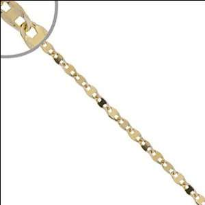 14k Yellow Gold, Gucci Mariner Anchor Cable Link Chain Necklace 4mm