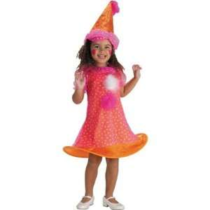 Spunky Clown Costume Toddler Girl: Office Products