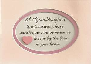 Children Girls TREASURE Heart LOVE sayings verses poems plaques