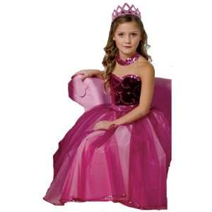 Deluxe Glamorous Dress Child Costume Toys & Games