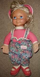 VTG Playskool 1993 21 Kid Sister Plush Doll My Buddy