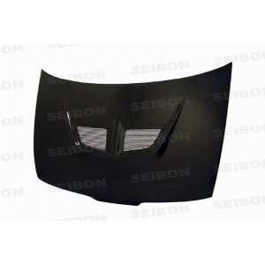 Seibon Carbon Fiber EVO Style Hood Acura Integra 90 93