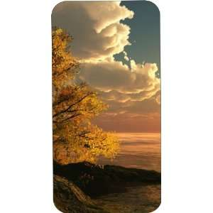 Clear Hard Plastic Case Custom Designed Nature with Ocean