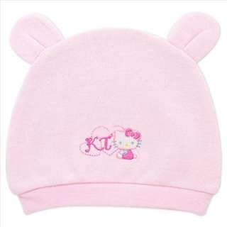 Have your baby run around in this adorable Hello Kitty Hat in Pink