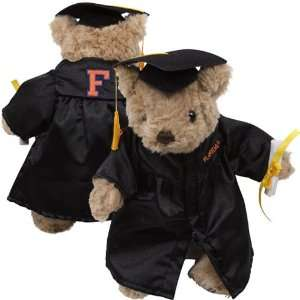 Florida Gators Black Graduation Plush Bear Sports