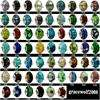 120pcs Mixed Murano Glass Beads Charms European #P120 1