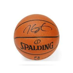 Outdoor Game Ball Series NBA Basketball Autograph: Sports Collectibles