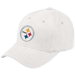Reebok Pittsburgh Steelers White Brushed Basic Logo
