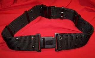Firepower Tactical 2.25 wide Web Belt   BLACK / Fits Waists Up to 52