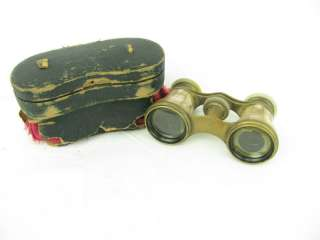 Antique Mother of Pearl Opera Glasses Le Fils Paris