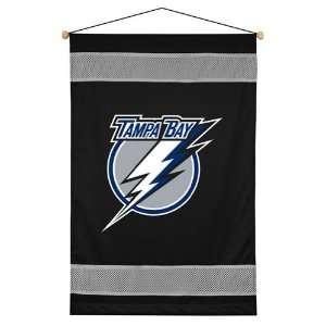 NHL Tampa Bay Lightning   Team Logo Wall Hanging Decor Hockey