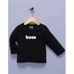 Boss Black Long Sleeve Shirt Baby
