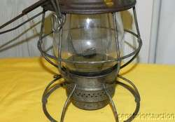 ANTIQUE U.P. UNION PACIFIC RAILROAD LANTERN #W60