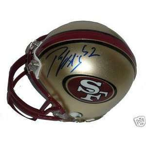 Patrick Willis Signed San Francisco 49ers Mini Helmet