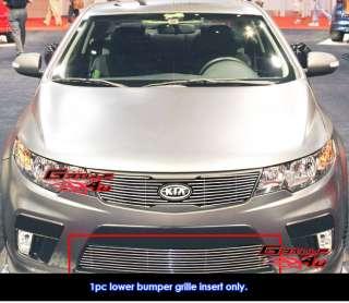 10 11 2011 Kia Forte Koup Bumper Billet Grille Insert