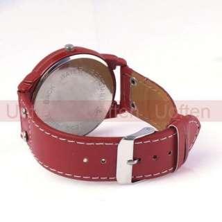 Girl Boy Childrens Bear Pattern Round Shape Wrist Watches