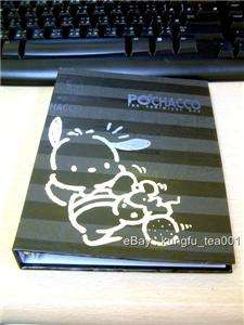 PC Dog Pochacco Hardcover Note Book Diary + Stickers