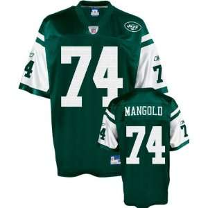 Nick Mangold Green Reebok NFL New York Jets Toddler Jersey