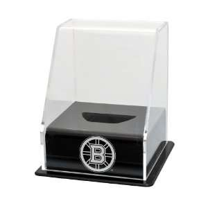 NHL Boston Bruins Single Hockey Puck Display Case with