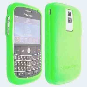Light Green Silicone Soft Skin Case Cover for Blackberry Bold 9000
