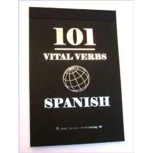 101 Vital Verbs Spanish (Little Black Books