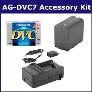 Panasonic AG DVC7 Camcorder Accessory Kit includes SDM