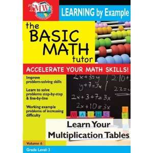 Basic Math Tutor Learn Your Multiplication Tables Jason
