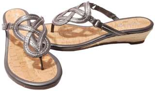 Sperry Top Sider Womens Shoes Lorrain Thong Wedge Heel Sandals